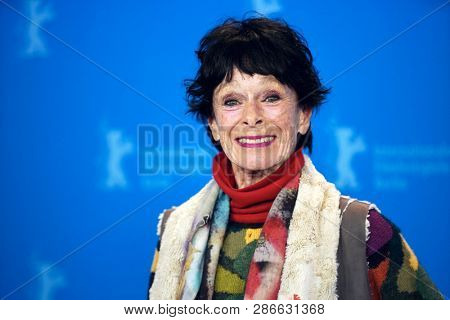 Geraldine Chaplin attends the 'La Fiera Y La Fiesta' photocall during the 69 Berlinale Festival Berlin at Grand Hyatt Hotel on  February 13, 2019 in Berlin, Germany.