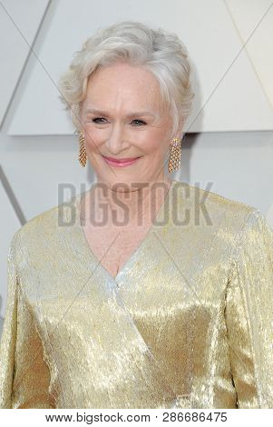 Glenn Close at the 91st Annual Academy Awards held at the Hollywood and Highland in Los Angeles, USA on February 24, 2019.