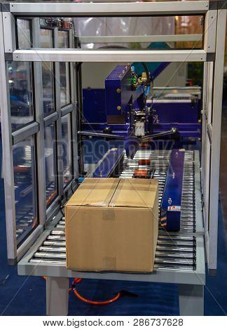 Fastener Packing Machine Packaging Box Carton Machine poster