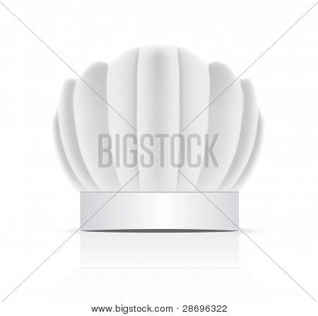 Chefs Hat Traditionally Called A Toque Blanche