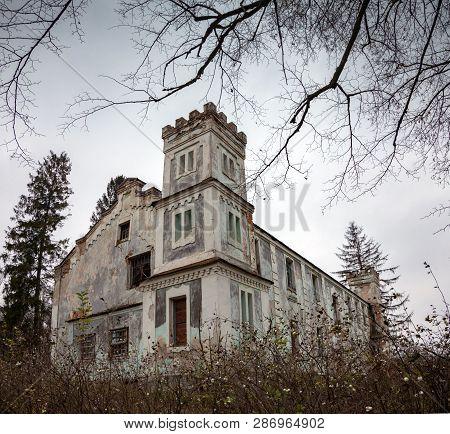 Abandoned Old Building In Disrepair Requiring Repair
