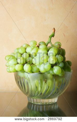Still-Life With Bunch Of Grapes