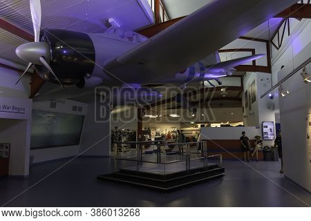 Darwin, Australia - March 14th, 2020: An Internal General View Of The Royal Flying Doctors Service M