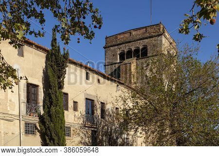 Sant Jeroni De La Murtra Monastery, Built In The 14th Century, Is Where Thecatholic Monarchs Receiv