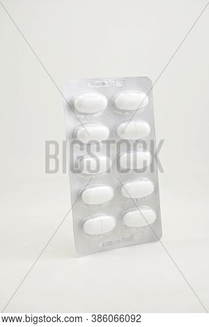 Manila, Ph - Sept 10 - Calcium Carbonate Calcimate Supplement Blister Foil Pack On September 10, 202