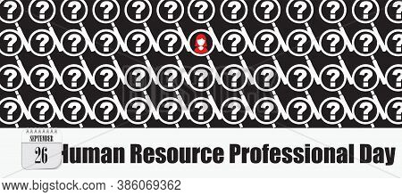 Post Card For Event September Day Human Resource Professional Day