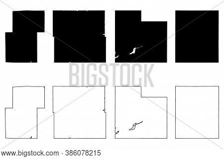 Stevens, Kanabec, Rice And Rock County, Minnesota (u.s. County, United States Of America, Usa, U.s.,