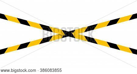 Caution Tape Line Stripe And Copy Space For Banner, Barricade Tape, Caution Tape Yellow Black Stripe