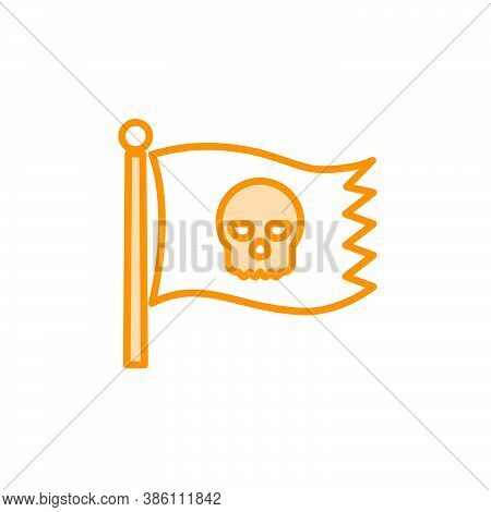 Illustration Vector Graphic Of Pirate Icon Template
