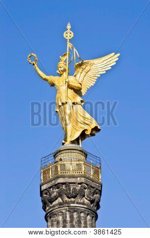 Statue von Victoria, Siegesaeule, berlin