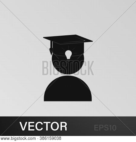 University Avatar. Education Icon. Education, Academic Degree. Signs, Outline Symbols Collection, Si