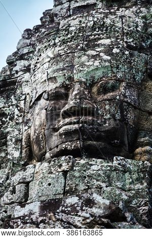 ruins of the temple of Bayon, Siem Reap