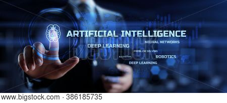 Ai, Artificial Intelligence, Machine Learning, Neural Networks. Modern Technology Innovation Automat