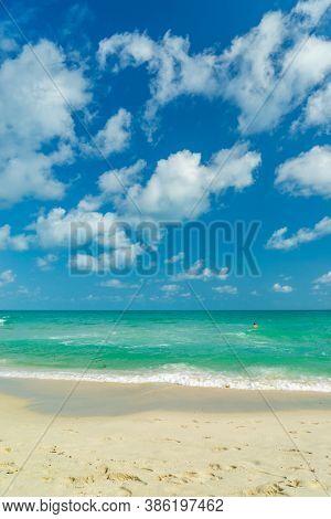 Chaweng beach on Koh Samui island in Thailand