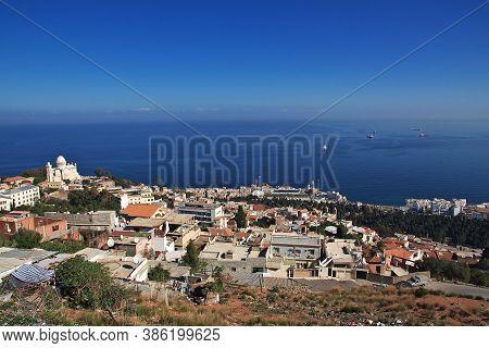 View On Basilique Notre Dame D'afrique, Algeria