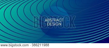 Dark Dynamic Wave. Fluid Abstract Motion. Vivid Geometric Shapes. Dynamic Wave. Graphic Pattern. Flo