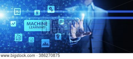 Machine Deep Learning Algorithms, Artificial Intelligence, Ai, Automation And Modern Technology In B