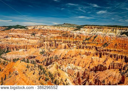 Cedar Breaks National Monument Is A Natural Amphitheater Canyon At An Elevation Of Ten Thousand Feet