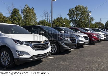 Plainfield - Circa September 2020: Chevrolet Automobile Dealership. Chevy Is A Division Of General M