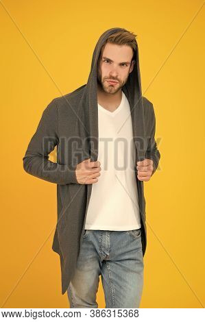 For Casual Go-to. Handsome Man In Casual Style. Modern Guy With Casual Look. Casual Fashion Trends.