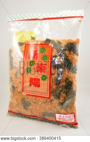 Manila, Ph - Sept 10 - Shin Ton Yon Powdery Pork With Seaweeds Pack On September 10, 2020 In Manila,