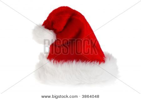 Isolated Santa Hat