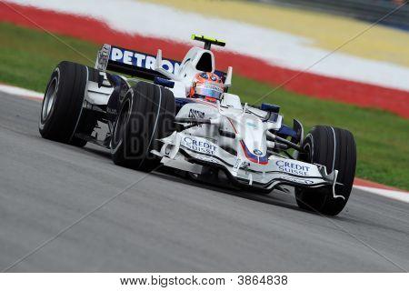 Robert Kubica Of Bmw F1 Team