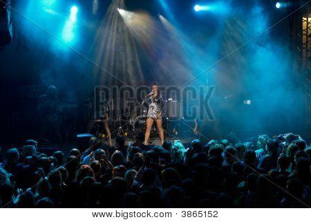 Rock Concert Of  Singer Anita Tsoy