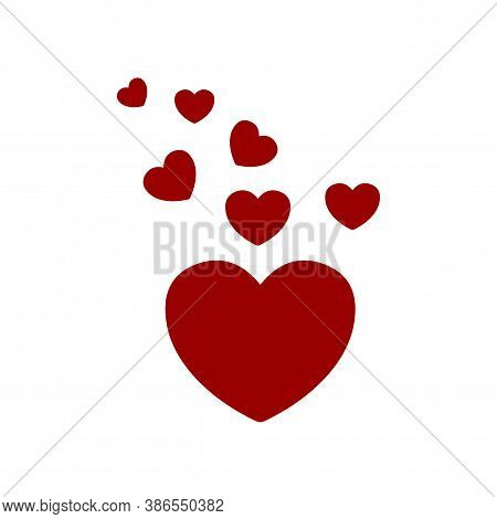 Heart. Heart Icon. Heart Icon Isolated With White Background. Heart Icon Image. Heart Icon Logo. Hea