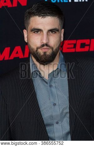 Alex Bentley attends the premiere of