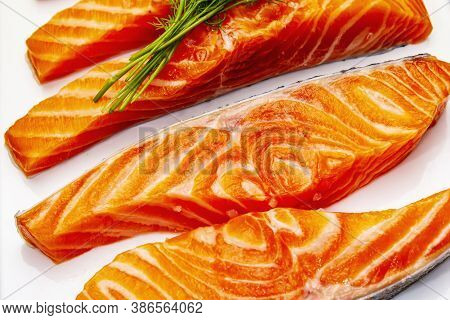 Raw Norwegian Trout