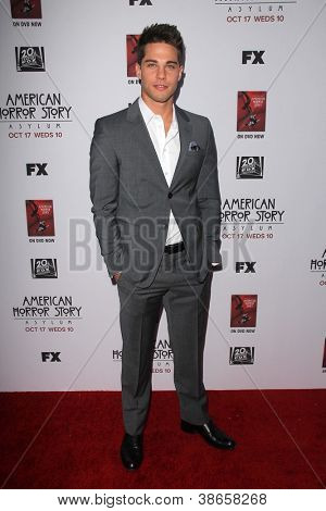 LOS ANGELES - OCT 13:  Dean Geyer arrives at the
