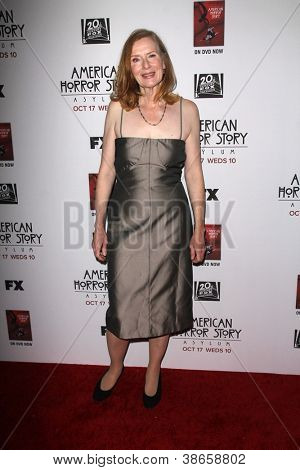 "LOS ANGELES - OCT 13:  Frances Conroy arrives at the ""American Horror Story: Asylum"" Premiere Screening at Paramount Theater on October 13, 2012 in Los Angeles, CA"