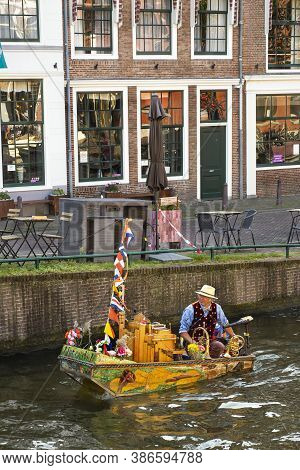 19 September 2020, Leiden, Netherlands, Traditional Dutch Festival