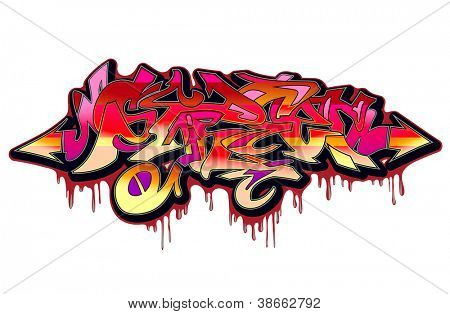 Graffiti Urban Art Vector