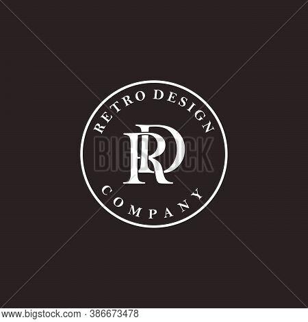Elegant Initials, R And D Logo Design Vector