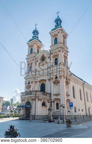 Bielsko-biala, Poland - June 15, 2020: Church Of Divine Providence.