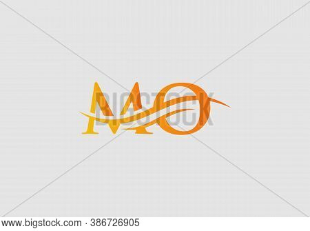 Mo Logo Design. Mo Logo For Luxury Branding. Elegant And Stylish Design For Your Company