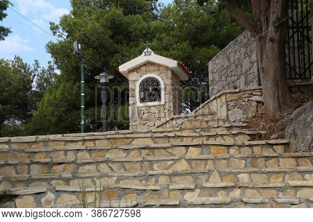 Church, Tribunj Is A Village And A Municipality In Sibenik-knin County, Croatia