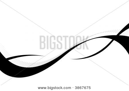 Abstract Swooshes Layout