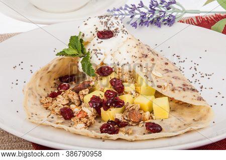 Healthy Food; A Tasty And Healthy Breakfast.