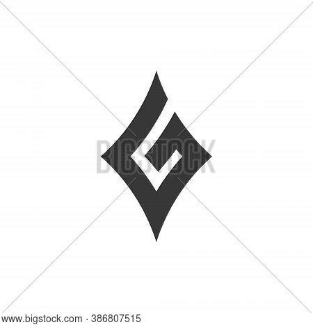 G Letter Lettermark Logo Monogram - Typeface Type Emblem Character Trademark