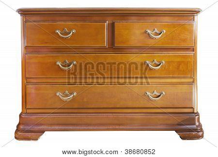 Wooden Oak Chest