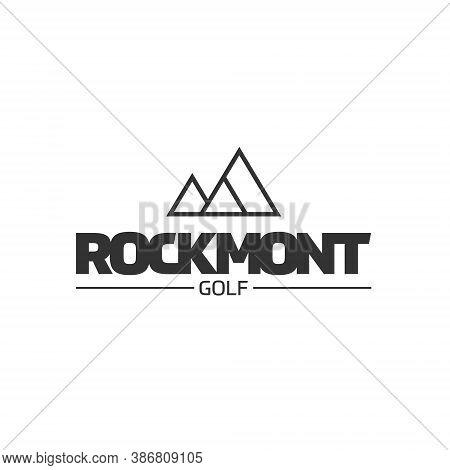 Mountain Logo - Travel Nature Landscape Peak Rock Tourism Outdoor Hiking View Climbing High Hill Adv