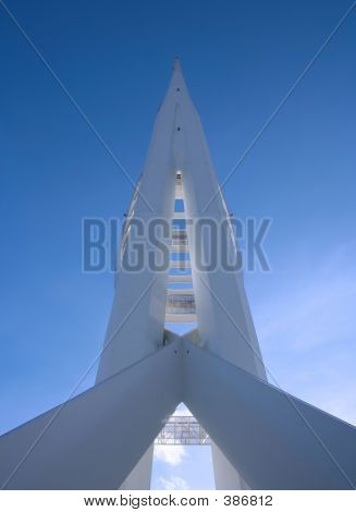 Spinnaker Tower Rear View