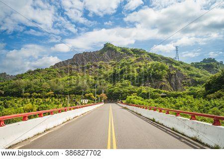 Scenery Of Liji Badlands In Taitung City, Taiwan