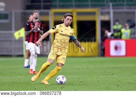 Milano, Italy. 24th September 2020. Uefa Europa League. Patrick Berg Of Bodo/glimt. In Action   Duri