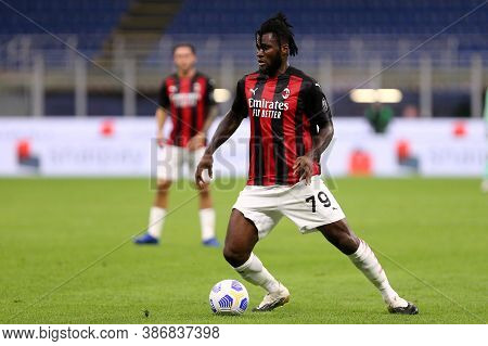 Milano, Italy. 24th September 2020. Uefa Europa League. Franck Kessie  Of Ac Milan   During The Uefa