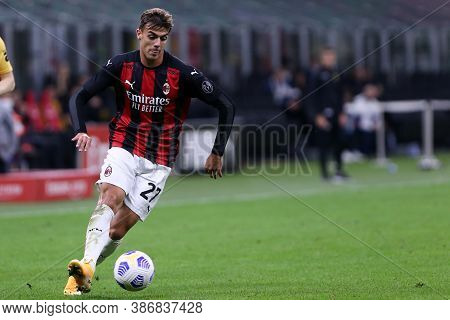 Milano, Italy. 24th September 2020. Uefa Europa League. Daniele Maldini  Of Ac Milan   During The Ue