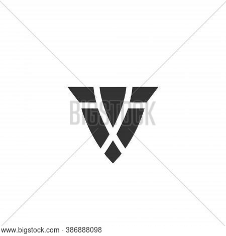 Shield Logo - Emblem Guard Protect Defense Safe Arms Safety Secure Armor Privacy Abstract Firewall V